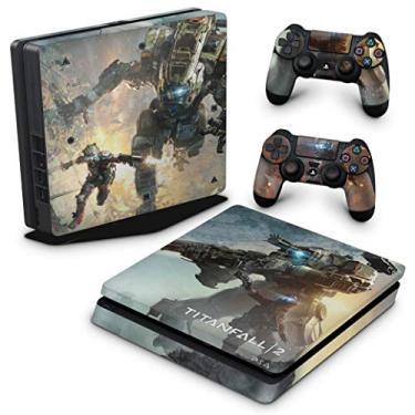 Skin Adesivo para PS4 Slim - Titanfall 2#B