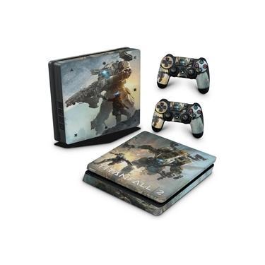 Skin Adesivo para PS4 Slim - Titanfall 2 #A