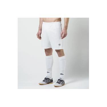 Calção Futebol Umbro Twr Striker Branco Masculino