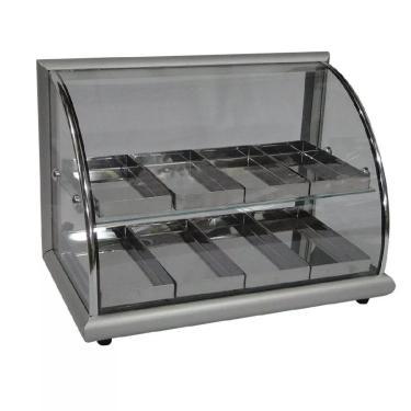 Estufa Para Salgados 8 Bandejas Aluminio - Alsa 220V