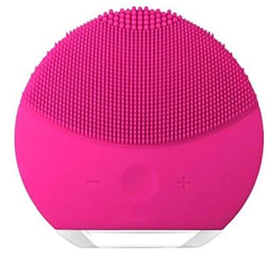 Esponja Mini Elétrica Massageadora Para Limpeza Facial Pink