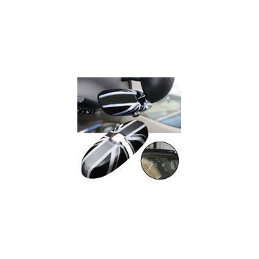 Imagem de 1 pc reino unido Estilo Bandeira Carro Espelho Retrovisor Interno Tampa Do Carro Decoração Adesivo Decalque Para BMW mini Cooper R55 R56 R57 D55