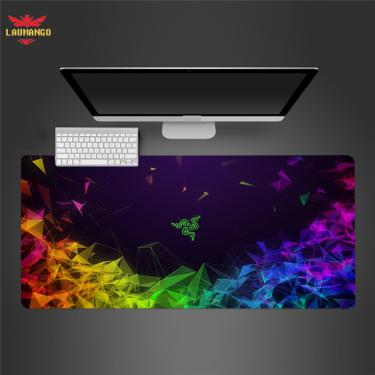 Razer extra grande jogo mousepad grande computador gamer mouse pad anti-deslizamento de borracha