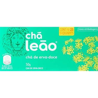 Chá de Erva Doce Leão Fuze com 25 Saquinhos