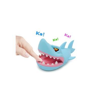 som arrumado brinquedo jogo de mesa e luz dedo mordida mordida de tubarão mão crocodilo descompressão toda pessoa brinquedo paródia novo e estranho