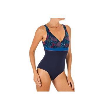 Maiô de natação Modelador Kaipearl Feminino Nabaiji
