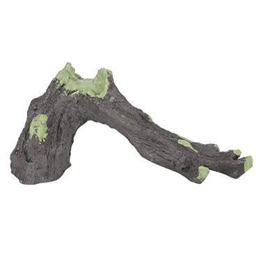 Imagem de Wosume 【 】 Decoração de paisagem simulação de esconderijo de répteis, paisagem de caixa de répteis, caverna de esconde-esconde para répteis animais, cobras animais de estimação