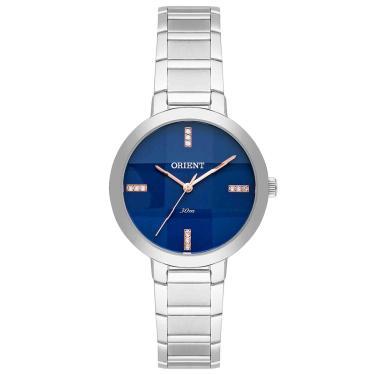 e36cf27ed25 Relógio Orient Analógico Swarovski Feminino FBSS0057 D1SX