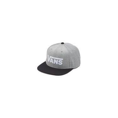 638a08b537521 Boné Drop V II Snapback Vans - cinza