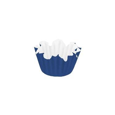 Forma Papel Número 6 Flor Azul Royal Com 100 Unidades Regina