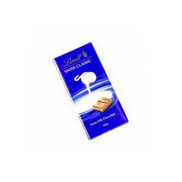 Chocolate Suiço ao Leite Lindt Swiss Classic 100g Mega Oferta
