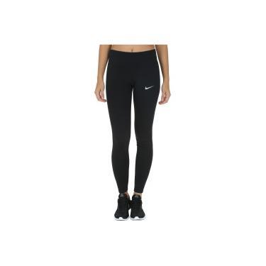 Calça Legging Nike Power Essential Run Tight - Feminina - PRETO Nike 8856696a2595d