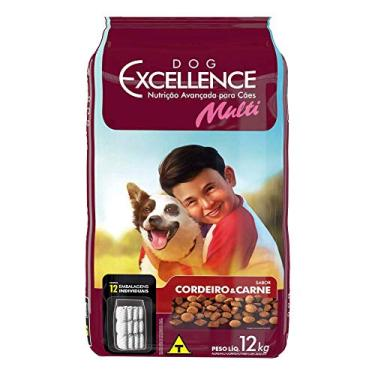 Dog Excellence Adulto Mult Carne e Cordeiro 12kg