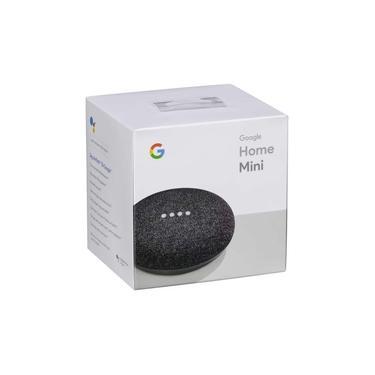 Caixa De Som Speaker Google Home Mini Agora Em Português Br - controle por voz