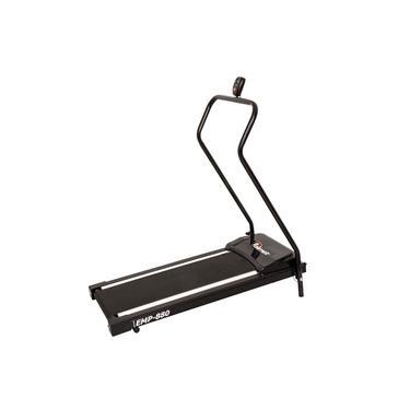 Esteira Ergométrica Polimet EMP-880 Preto 0173 Até 110kg 5 Funções Bivolt