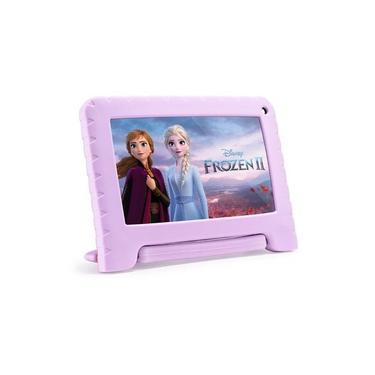 Imagem de Tablet Infantil Frozen Tela 7 32GB 1GB Ram Multilaser