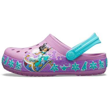 Sandália Crocs Jasmine Clog Roxo  menina