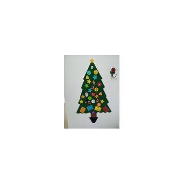 Árvore De Natal Infantil Em Feltro