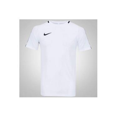 fe7ca61b8f468 Camiseta Nike Academy - Masculina - BRANCO PRETO Nike