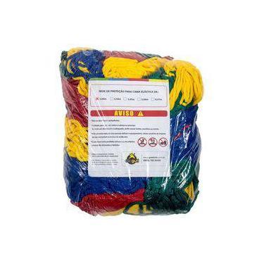 Imagem de Rede De Proteção Colorida Canguri Para Cama Elástica De 2 M