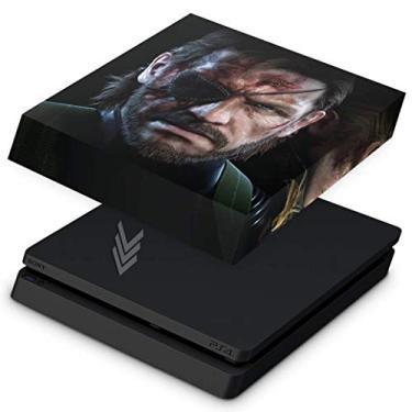 Capa Anti Poeira para PS4 Slim - Metal Gear Solid V