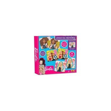 Imagem de Barbie Jogo da Memória Com 12 Pares - Fun Divirta-se