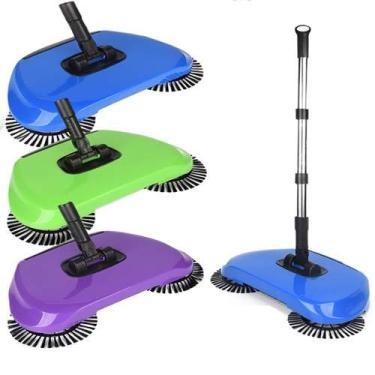 Vassoura Mágica Sweeper Feiticeira Perfect Dobrável 3 Em 1