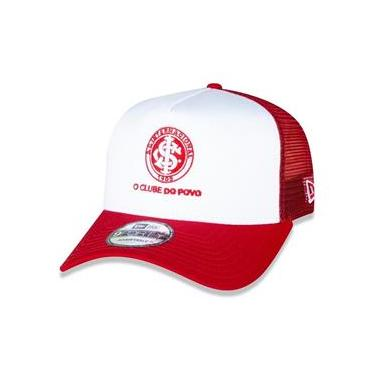 Boné 9Forty Internacional Vermelho Branco New Era