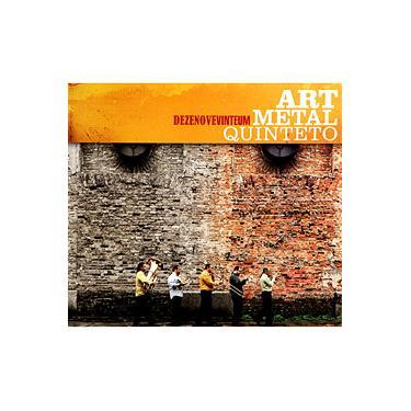 Imagem de CD Art Metal Quinteto - Dezenovevinteum