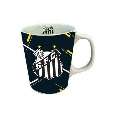 Caneca Santos de Porcelana com Caixa dfbee0ebbcfc4
