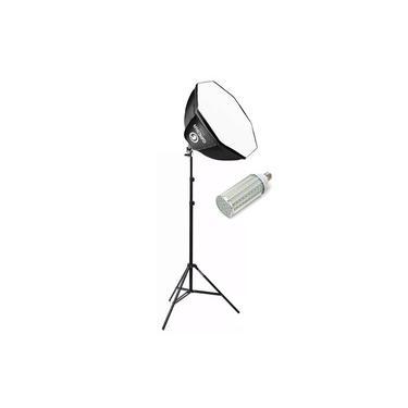 Softbox Octabox Profissional + Lâmpada de LED + Tripé
