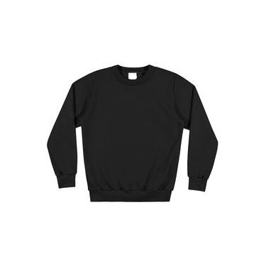 Blusão Moletom Forrado Masculino Qualidade Frio 01 A 16 Anos