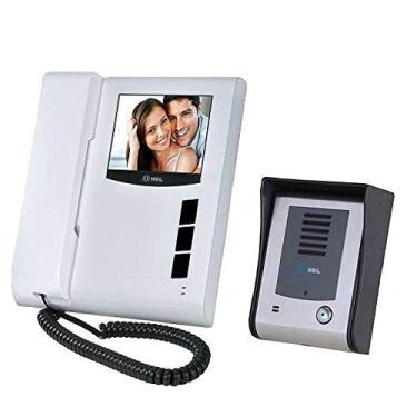 Imagem de Kit Interfone Residencial HDL Com Câmera Vídeo Porteiro Eletrônico Sense Classic S