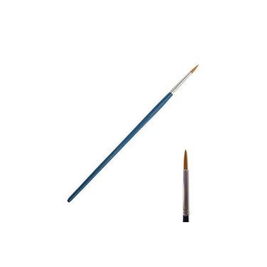 Imagem de Pincel para Modelismo Cerda Sintética Arredondada Point 01 ITA 52204