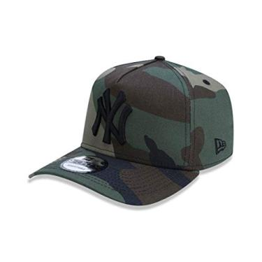 Boné Aba Curva New York Yankees BON203 New Era - Camuflado 7d04f595ff9