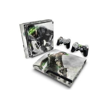 Skin Adesivo para PS3 Slim - Splinter Cell Blacklist