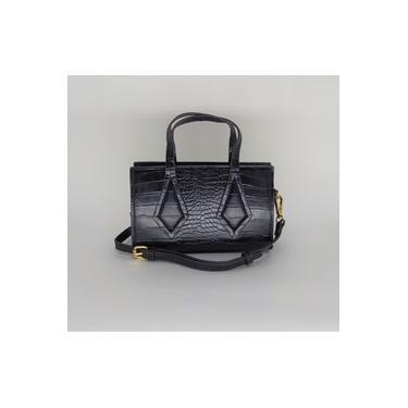 Bolsa Turquesa modelo Mini Bag Transversal Preta