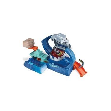 Imagem de Pista Hot Wheels City Robo Tubarão com Lançador GJL12 Mattel