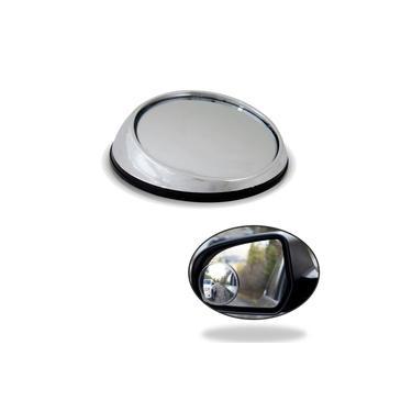 Espelho auxiliar convexo cromado p/ retrovisor tunnig Fusca 1993 2004 2016 - 2013 1998 1991 - 1999