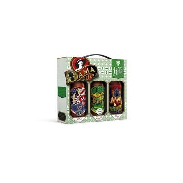 Kit Cervejas Dama Bier 600Ml - Ipa / Tupi / American Lager