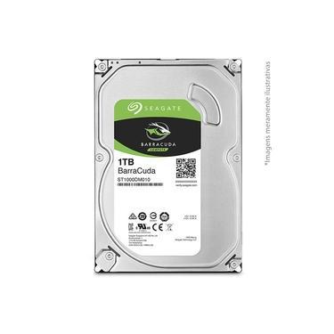 HD 1TB Seagate BarraCuda Interno 3.5'' SATA3 (ST1000DM010)