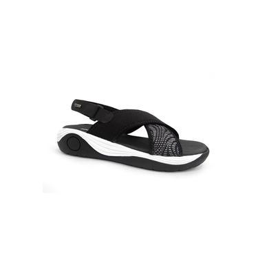 Sandalia Flatform Confort 39302a18 New Face 07 - Preto