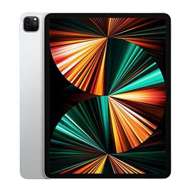 "Imagem de Apple iPad Pro 12,9"", processador M1, 256GB, Wi-Fi, Prata"