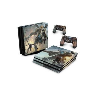 Skin Adesivo para PS4 Pro - Titanfall 2 #B