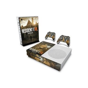 Skin Adesivo para Xbox One Slim - Resident Evil 7: Biohazard