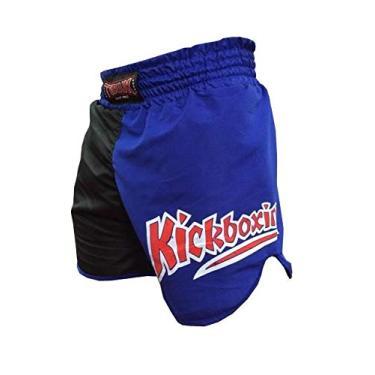 Calção Short Kickboxing - K1- Cavado - Azul/Preto - Toriuk
