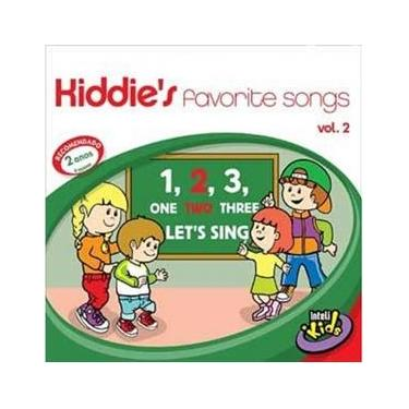Imagem de Kiddies Favorite Songs Vol. 2 - CD Infantil
