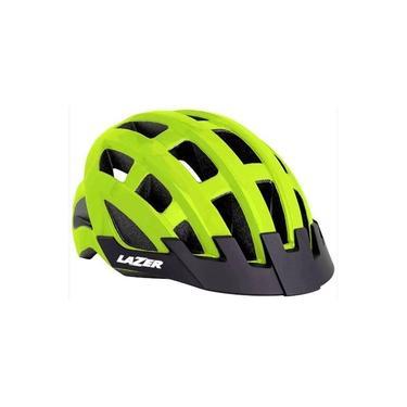 Imagem de Capacete Ciclismo Lazer Compact Amarelo Fluor Ciclismo 54-61