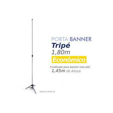 Imagem de Porta Banner 3G Tripé 1,80m alumínio