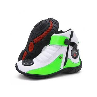 Imagem de Bota Atron Shoes 271 Branca/Verde